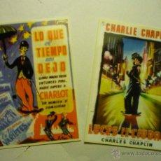 Coleccionismo Calendarios: LOTE CALENDARIOS CINE 2006 PELICULAS CHARLES CHAPLIN. Lote 53752287
