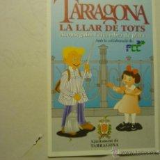 Coleccionismo Calendarios: CALENDARIO TARRAGONA -AYUNTAMIENTO CATALAN 1998 -MAGINET PELACANYES. Lote 178902983