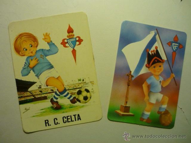 LOTE CALENDARIOS FUTBOL CELTA 1974-1990 (Coleccionismo - Calendarios)