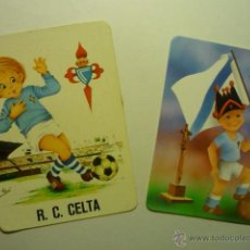 Coleccionismo Calendarios: LOTE CALENDARIOS FUTBOL CELTA 1974-1990. Lote 53782152