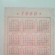 Coleccionismo Calendarios: CALENDARIO 1960. PUBLICIDAD GRAN SASTRERIA ECLESIASTICA JAULENT BARCELONA. Lote 53828468