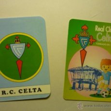 Coleccionismo Calendarios: LOTE CALENDARIOS FUTBOL CELTA 1982-1996. Lote 54011124