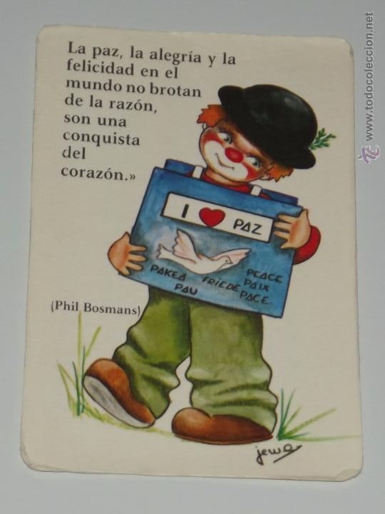 Calendario Dibujo Payaso Jema Frase Amor Paz An Comprar