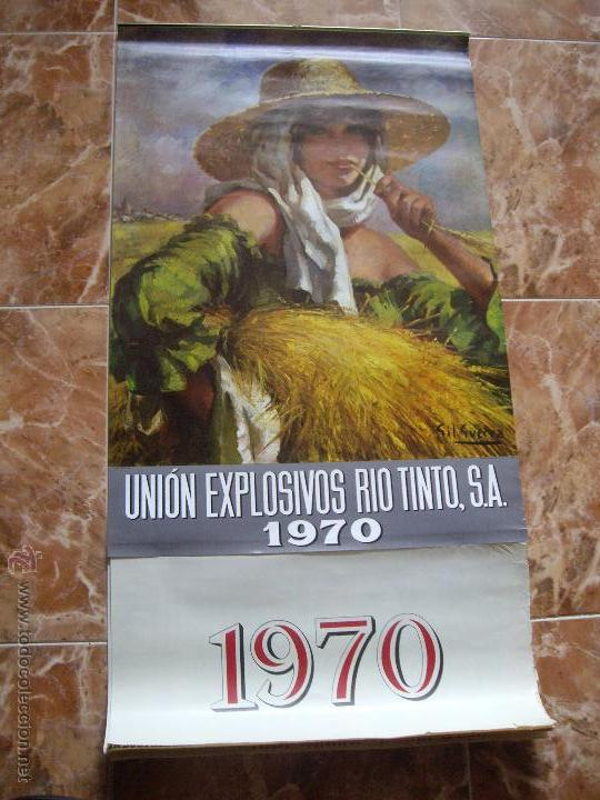 CALENDARIO UNION EXPLOSIVOS RIO TINTO (Coleccionismo - Calendarios)