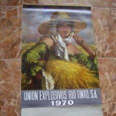 Coleccionismo Calendarios: CALENDARIO UNION EXPLOSIVOS RIO TINTO. Lote 54102326