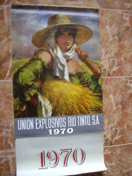 Coleccionismo Calendarios: CALENDARIO UNION EXPLOSIVOS RIO TINTO - Foto 2 - 54102326