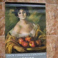 Coleccionismo Calendarios: CALENDARIO UNION EXPLOSIVOS RIO TINTO 1966. Lote 54102473