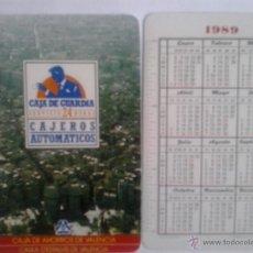 Coleccionismo Calendarios: CALENDARIO FOURNIER DE CAJA VALENCIA DE 1989. Lote 54108117