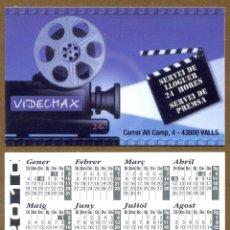 Calendarios Bolsillo - VIDEOMAX 2010