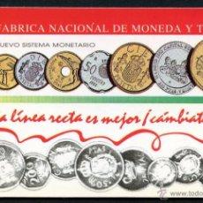 Coleccionismo Calendarios: CALENDARIO DE BOLSILLO, FABRICA NACIONAL DE MONEDA Y TIMBRE, 1993. Lote 54152834