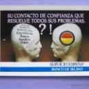 Coleccionismo Calendarios: CALENDARIO DE BOLSILLO. FOURNIER. AÑO 1976. BANCO DE BILBAO ESCASO Y RARO. Lote 48910393