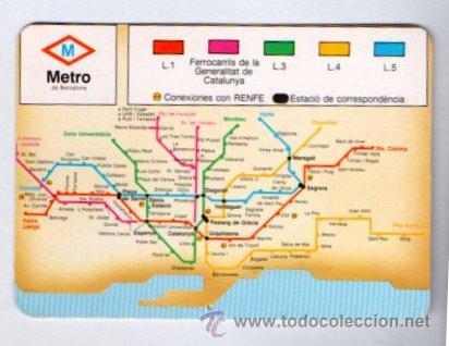 Calendario 1993 Metro Barcelona Publicidad Opt Sold Through