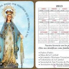 Calendarios Bolsillo - LA MILAGROSA 2013