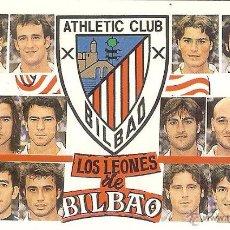Coleccionismo Calendarios: CALENDARIO PUBLICITARIO FÚTBOL - 2000 - ATHLETIC CLUB DE BILBAO. Lote 54725564