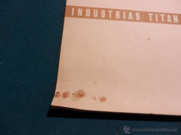 Coleccionismo Calendarios: LOS COLORES EN EL REINO DE LAS FLORES - CALENDARIO DE PARED INDUSTRIAS TITAN AÑO 1956 (VER FOTOS) - Foto 2 - 54734641