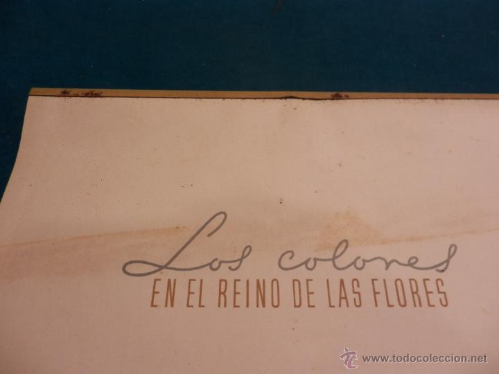Coleccionismo Calendarios: LOS COLORES EN EL REINO DE LAS FLORES - CALENDARIO DE PARED INDUSTRIAS TITAN AÑO 1956 (VER FOTOS) - Foto 3 - 54734641