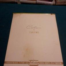 Coleccionismo Calendarios: COLOR Y TURISMO - CALENDARIO DE PARED INDUSTRIAS TITAN AÑO 1963 (VER FOTOS). Lote 54734652