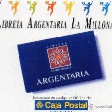 Coleccionismo Calendarios: CALENDARIO CAJA POSTAL ARGENTARIA AÑO 1995. Lote 54738705