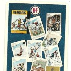 Coleccionismo Calendarios: CALENDARIO FOURNIER DE JUEGOS. AÑO 1967.. Lote 54758439