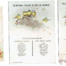 Coleccionismo Calendarios: PS5857 LOTE DE 16 CARNETS DE BAILE. PAPEL. BARCELONA Y OTROS. PRINC. S. XX. Lote 51521439