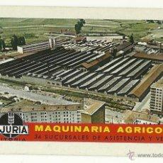 Coleccionismo Calendarios: FOURNIER 1969. CALENDARIO FOURNIER DE MAQUINARIA AJURIA. AÑO 1969.. Lote 54804991