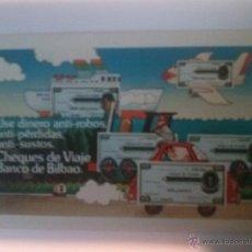 Coleccionismo Calendarios: CALENDARIO FOURNIER DEL BANCO DE BILBAO 1978. Lote 54989974