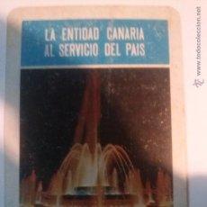 Coleccionismo Calendarios: CALENDARIO FOURNIER DE CAJA GRAN CANARIA 1974. Lote 54990104