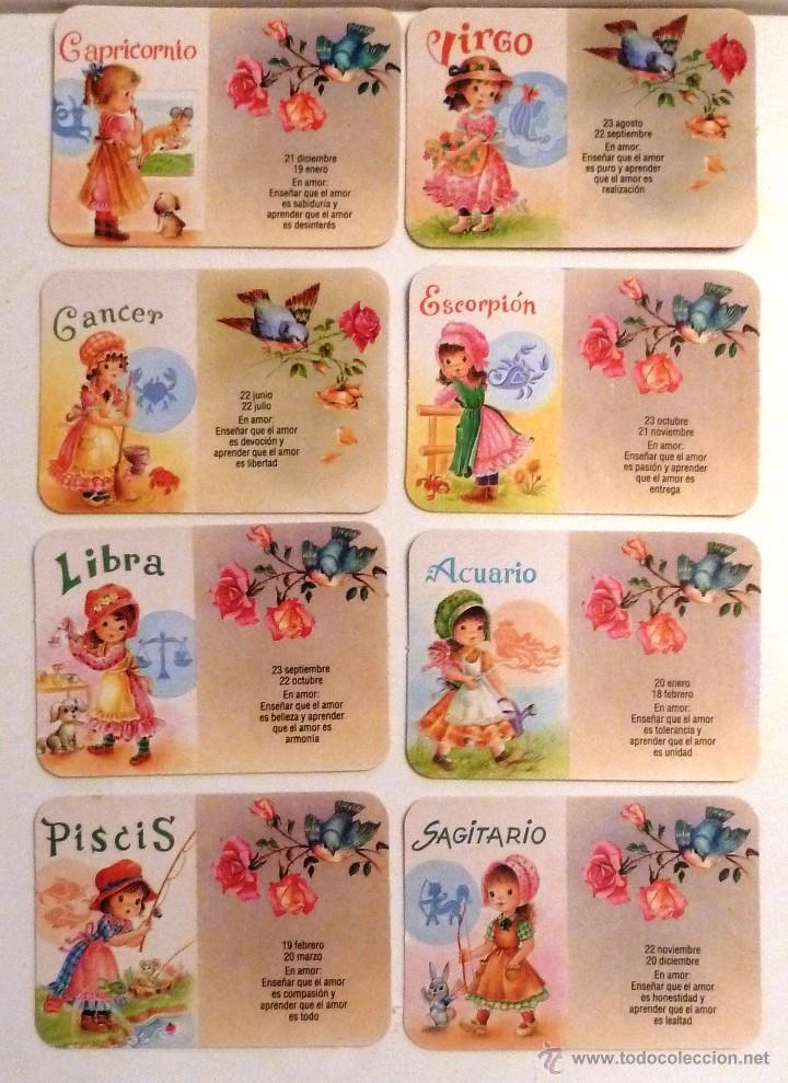 Calendario Zodiaco.Calendario De Bolsillo 1988 Signos Del Zodiaco Sold