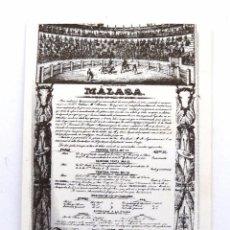 Coleccionismo Calendarios: CALENDARIO DE BOLSILLO 2000. UNION TAURINA DE ABONADOS DE MALAGA. CARTEL INAUGURACION PLAZA. TOROS.. Lote 176582860