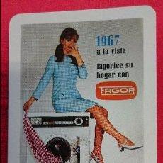 Coleccionismo Calendarios: CALENDARIO HERACLIO FOURNIER FAGOR 1967. Lote 55140940