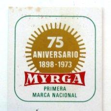 Coleccionismo Calendarios: CALENDARIO DE BOLSILLO 1973. MYRGA.. Lote 55168003