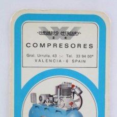 Coleccionismo Calendarios: CALENDARIO PUBLICITARIO DE BOLSILLO - COMPRESORES NAVARRO MERCURY SA - AÑO 1973. Lote 55229064