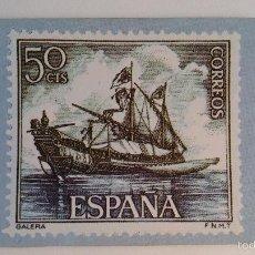 Coleccionismo Calendarios: CALENDARIO 1983 SELLO CORREOS ,GALERA . Lote 55238856