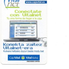 Coleccionismo Calendarios: CALENDARIO FOURNIER CAJA VITAL AÑO 2006. Lote 55350482