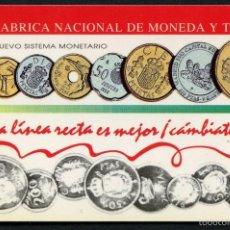 Coleccionismo Calendarios: CALENDARIO DE BOLSILLO, FABRICA NACIONAL DE MONEDA Y TIMBRE, 1993. Lote 55356202