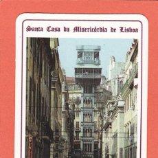 Coleccionismo Calendarios: CALENDARIO EXTRANJERO 1992 - LOTARIA NACIONAL. LOTERIA. ELEVADOR SANTA JUSTA. Lote 55373283