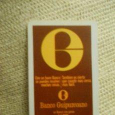 Coleccionismo Calendarios: BANCO GUIPUZCOANO CALENDARIO FOURNIER 1974, MANCHITAS EN TRASERA. Lote 55578387