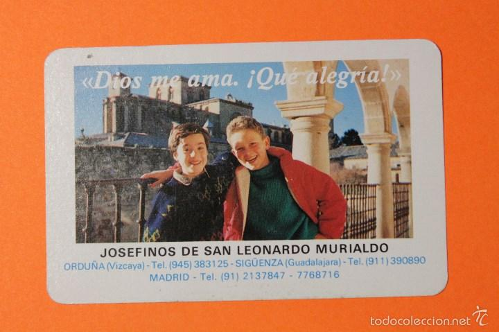 San Leonardo Calendario.Calendario Fournier Ano 1991 Josefinos De San Leonardo Murialdo Siguenza Orduna Madrid