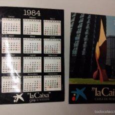 Coleccionismo Calendarios: CALENDARIO 1984 LA CAIXA . Lote 55931362