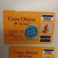 Coleccionismo Calendarios: LOTE 2 CALENDARIOS 1997 LA CAIXA. EN ESPAÑOL Y EN CATALAN. Lote 55931592