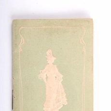 Coleccionismo Calendarios: ALMANAQUE. CALENDARIO PUBLICIDAD FARMACIA. JARABE DR. VILLEGAS (CÓRDOBA). AÑO 1904. ORIGINAL. Lote 55936249
