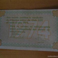 Coleccionismo Calendarios: ANTIGUO CALENDARIO CCC - 1974. Lote 56053374