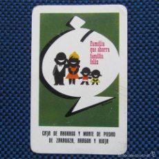 Coleccionismo Calendarios: CALENDARIO 1965 CAJA DE AHORROS Y MONTE DE PIEDAD DE ZARAGOZA, ARAGÓN Y RIOJA. Lote 56156057