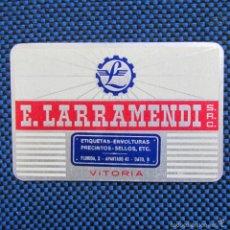 Coleccionismo Calendarios: CALENDARIO 1966 E. LARRAMENDI VITORIA. Lote 56182820