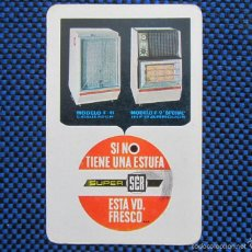 Coleccionismo Calendarios: CALENDARIO 1966 ESTUFA SUPER SER. Lote 56182851