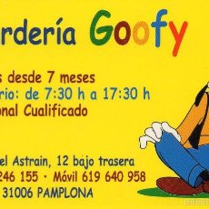Coleccionismo Calendarios: CALENDARIO GUARDERIA GOOFY 2003 PAMPLONA. Lote 56371143