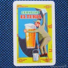 Coleccionismo Calendarios: CALENDARIO 1961 CERVEZAS EL TURIA. Lote 56509510
