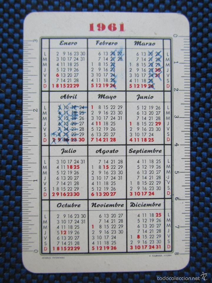 Calendario Del 1961.Calendario 1961 Cervezas El Turia