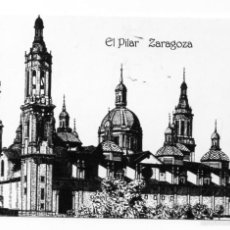 Coleccionismo Calendarios: CALENDARIO 2002 DIBUJO A PLUMILLA : ALFONSO CIFUENTES BLÁZQUEZ ZARAGOZA. Lote 56631113