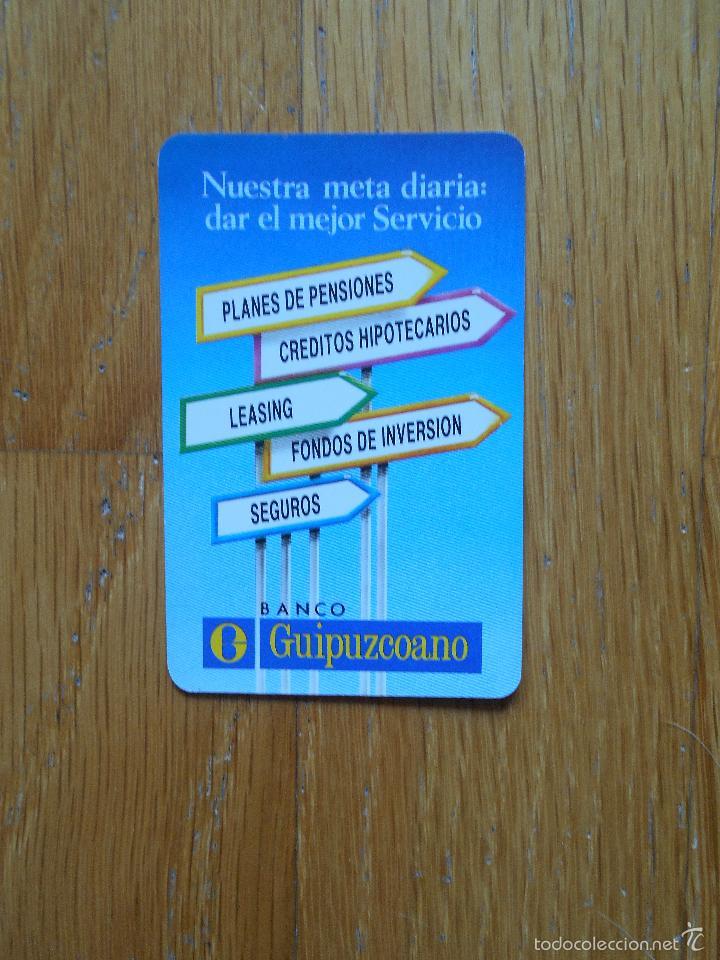 CALENDARIO FOURNIER 1992 ,BANCO GUIPUZCOANO (Coleccionismo - Calendarios)